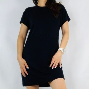 LOFT Outlet Lounge Black Soft Shift Dress